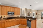 Large kitchen with plenty of space
