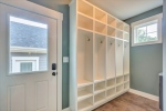 Mudroom with cubbies for everyone!