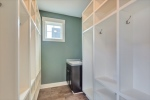 Mudroom has sink too!