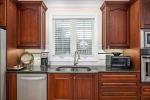 Custom cherry cabinets and granite counters