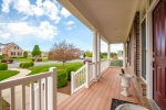 Composite wood decking for easy maintenance