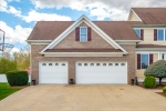 Side load garage with access to rear yard too!
