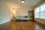 Hardwood floors in the great room