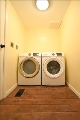 Washer and dryer remain