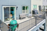 Rear deck for entertaining and outdoor living