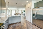 Kitchen is open to large great room