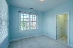 Huge walk in closet in second bedroom