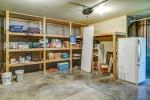 Built in storage in garage