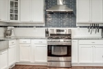 Beautiful modern subway tile backsplash