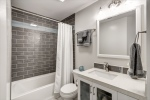 Full bath remodeled in 2018