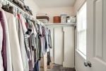 Large walk in closet in owners suite