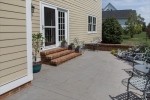Outdoors enjoy relaxing on the spacious patio
