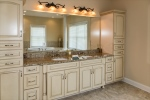 Elegant features about in the owners bathroom