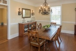 Entertain in the formal dining room
