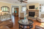 Great room adjoins living roomoffice
