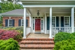 Brick front with wide front porch welcomes!