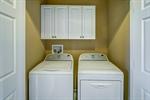 Laundry room on upper level