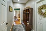 Mudroom with access to garage and basement