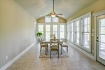 Sunroom for dining or relaxing
