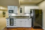 Includes wine cooler fridge and microwave too!