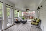 Huge screened porch with composite decking