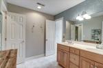 Hall bathroom opens to bedroom 3