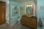 New Master Bath w Roomy Built-in Closet
