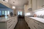 Quartz counter tops in the kitchen