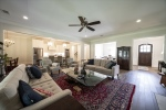 Hardwood floors throughout the living areas
