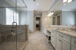 Marble tile floors