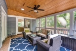 Spacious screened porch brings outdoor living in!