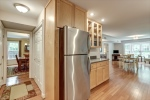 Large pantry space and WasherDryer area