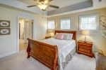 Owners suite features tray ceiling + frosted panes