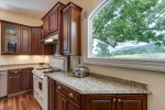 Granite counters cherry cabinets and VIEWS!