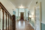 Restored oak and heart of pine floors throughout