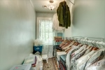 Walk in closet in bedroom 6