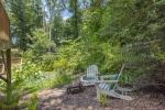 Lovely spot to read in backyard