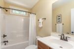 Secondary bathroom upstairs