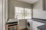 Laundry room with soapstone counters and sink