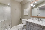 Full bathroom on 3rd. Perfect for teens or guests!