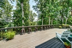 Entertain on the 35x65 deck overlooking the lake