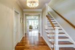 Gleaming hardwood floors throughout the home