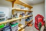 Storage closet in bedroom 3