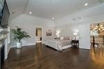 Master Suite with Double Doors to Hallway