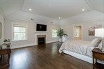 Upstairs Master Suite with Gas Fireplace