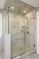 Large Shower with Rain Head