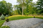 Paver Patio off the Kitchen and Family Room