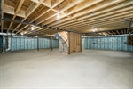 Full Basement with 9 ceilings
