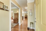 Gleaming hardwoods throughout the first floor.