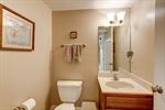 Half bathroom in basement